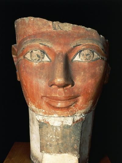 Head of Queen Hatshepsut from Deir El-Bahari--Giclee Print
