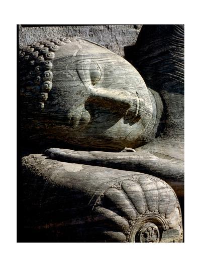 Head of Reclinning Buddha, Gal Vihara at Polonnaruwa, the Second Most Ancient of Sri Lanka's…--Giclee Print