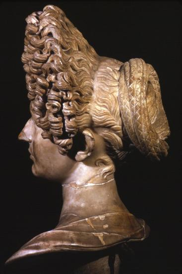 Head of Roman Lady of Flavian Period, late 1st century-Unknown-Giclee Print