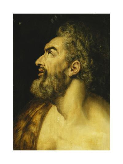 Head of Saint John the Baptist-Floris Frans-Giclee Print
