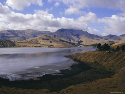 Head of the Bay, Lyttelton Harbour, Banks Peninsula, Canterbury, South Island, New Zealand-Ken Gillham-Photographic Print