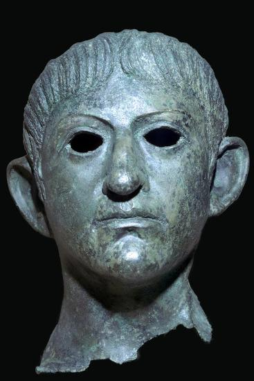 Head of the Emperor Claudius, Roman Britain, 1st century AD. Artist: Unknown-Unknown-Giclee Print