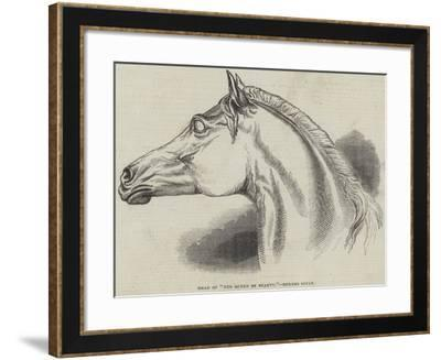 Head of The Queen of Beauty, Behnes Sculp--Framed Giclee Print