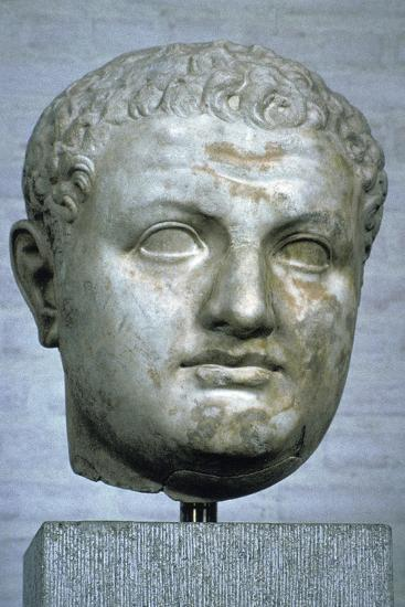 Head of the Roman emperor Titus, 1st century. Artist: Unknown-Unknown-Giclee Print