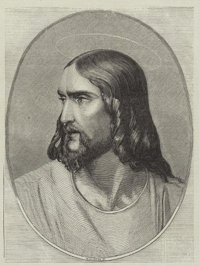 Head of the Saviour-Hippolyte Delaroche-Giclee Print