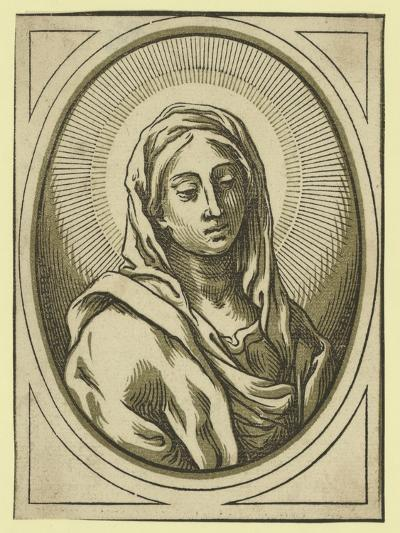Head of the Virgin, Between 1630 and 1655-Bartolomeo Coriolano-Giclee Print