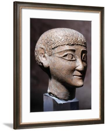 Head of Young God--Framed Giclee Print