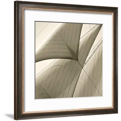 Head Sails of a Schooner-Michael Kahn-Framed Giclee Print