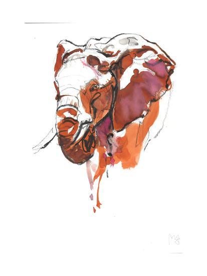 Head Study 6-Mark Adlington-Giclee Print