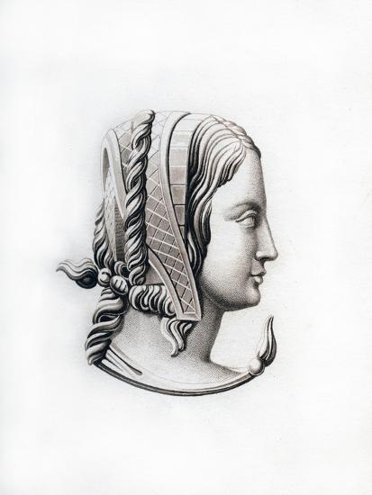 Headdress, Early 16th Century-Henry Shaw-Giclee Print