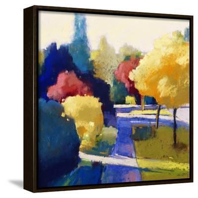 Heading Home-Lou Wall-Framed Canvas Print