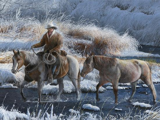 Heading Home-Kevin Daniel-Art Print