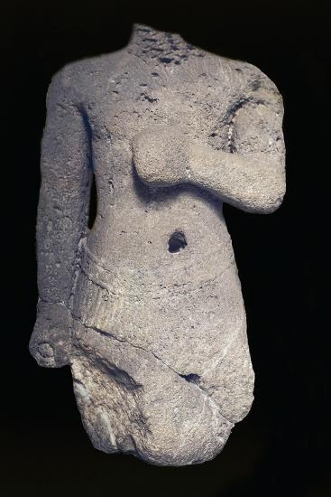 Headless Statue--Giclee Print