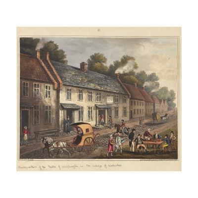 Headquarters of the Duke of Wellington in the Village of Waterloo-James Rouse-Giclee Print