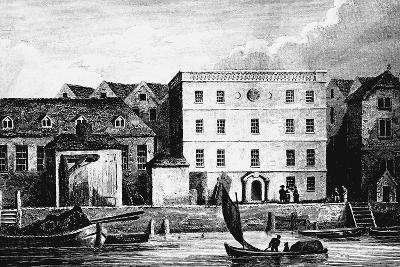 Headquarters of the Hanse Merchants or Esterlings in London, 1667--Giclee Print