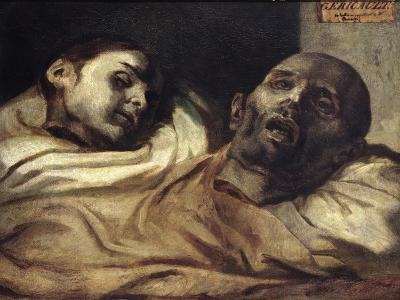 Heads of Torture Victims, Study for the Raft of the Medusa-Th?odore G?ricault-Giclee Print