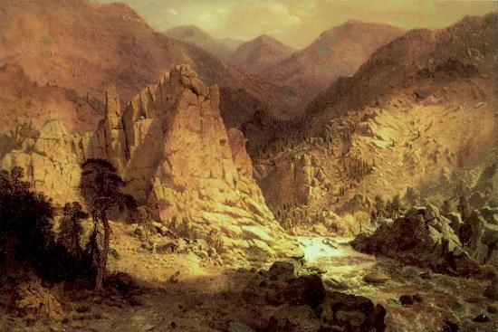 Headwaters of the Rio Grande, 1872-73-Hamilton Hamilton-Giclee Print