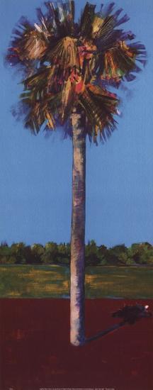 Healing Palm-Azure-Herbert J Draper-Art Print