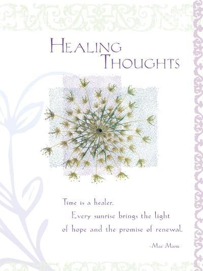 Healing Thoughts--Giclee Print