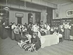 Health Class, Cosway Street Evening Institute for Women, London, 1914