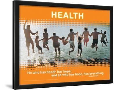 Health--Lamina Framed Art Print