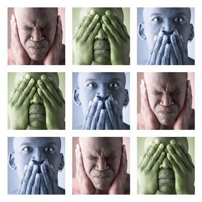 Hear No Evil, See No Evil, Speak No Evil--Photographic Print