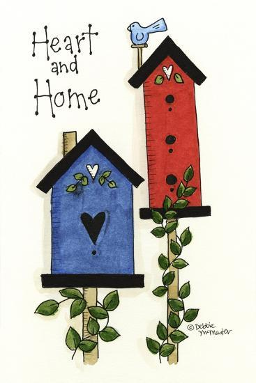 Heart and Home-Debbie McMaster-Giclee Print