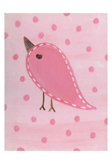 Heart Chick 3-Tammy Hassett-Art Print