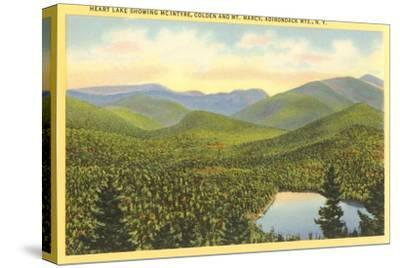 Heart Lake, Adirondack Mountains, New York