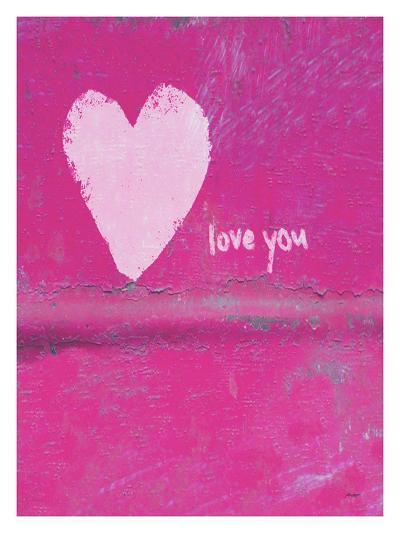 Heart Love You-Lisa Weedn-Giclee Print