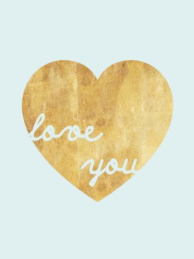 Heart of Gold Love-Miyo Amori-Art Print