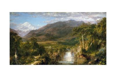 Heart of the Andes-Frederic Edwin Church-Giclee Print