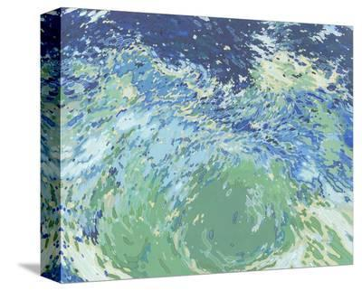 Heart of the Ocean-Margaret Juul-Stretched Canvas Print