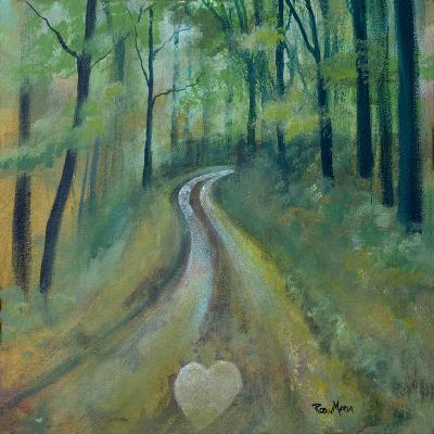 Heart on the Path-Robin Maria-Art Print