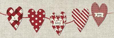 Heart Panel 1-Melody Hogan-Art Print