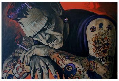 Heartbreaker-Mike Bell-Art Print