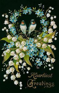 Heartiest Greetings, Vintage Bouquet