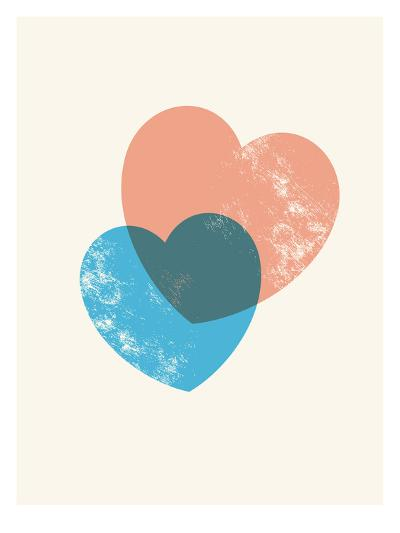 Hearts Combine-Brett Wilson-Art Print