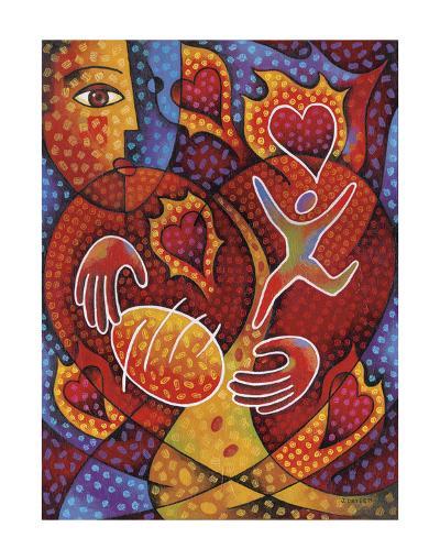 Hearts on Fire-Jim Dryden-Art Print