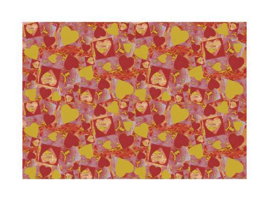 Hearts-Maria Trad-Giclee Print