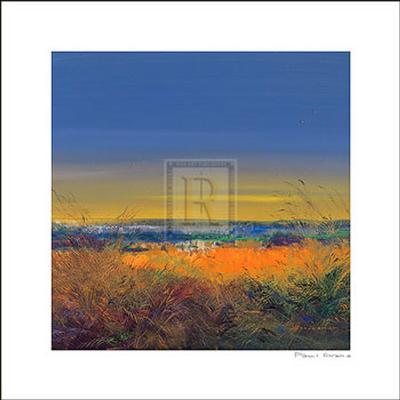 Heat of the Evening-Paul Evans-Art Print