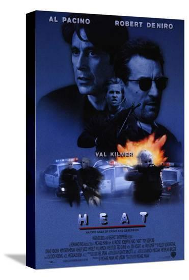 Heat--Stretched Canvas Print