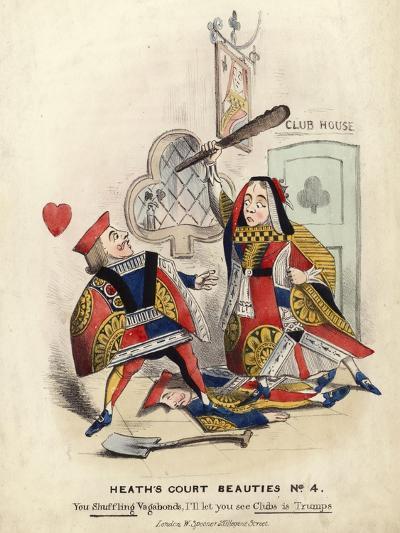 Heath's Court Beauties--Giclee Print