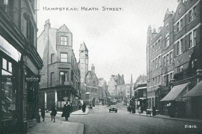 Heath Street in Hampstead
