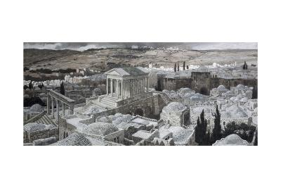 Heathen Temple on Golgotha-James Jacques Joseph Tissot-Giclee Print