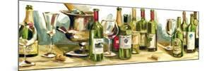 Wine and Champagne Panel by Heather A. French-Roussia
