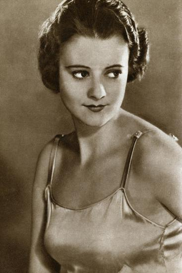 Heather Angel, English Film Actress, 1933--Giclee Print