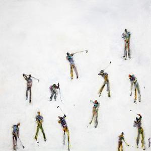 Golf 83 by Heather Blanton Fine Art