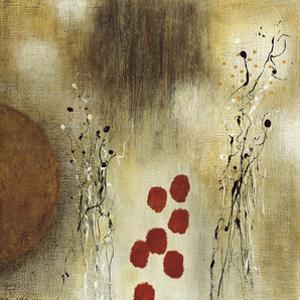 Autumn Moon I by Heather Mcalpine