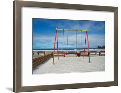A Swingset on False Bay at Fish Hoek